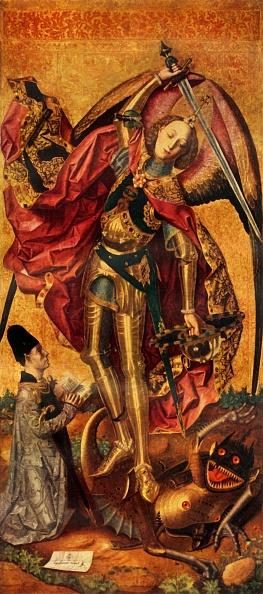 Architectural Feature「Saint Michael Triumphs Over The Devil」:写真・画像(10)[壁紙.com]