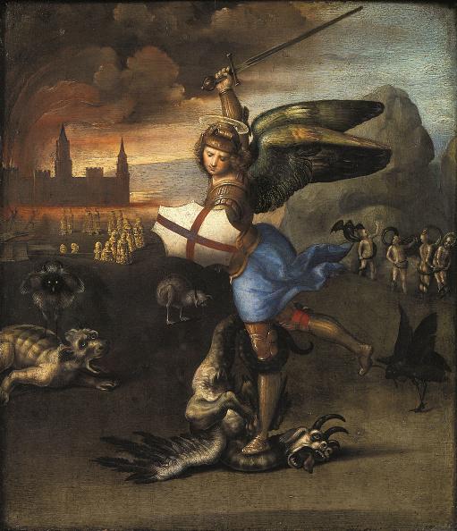 Painting - Activity「Saint Michael And The Dragon」:写真・画像(7)[壁紙.com]