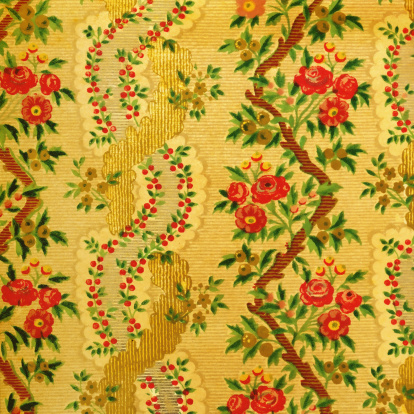 Regency Style「High Resolution Vintage Wallpaper with Flowers」:スマホ壁紙(13)