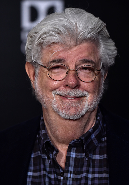 """George Lucas「Premiere Of Disney Pictures And Lucasfilm's """"Solo: A Star Wars Story"""" - Arrivals」:写真・画像(12)[壁紙.com]"""