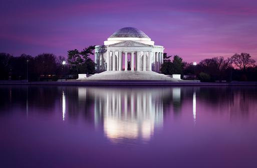 National Landmark「Jefferson memorial, DC」:スマホ壁紙(7)