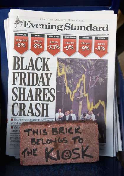 Crisis「The City Continues To Struggle As The Stock Market Crashes」:写真・画像(3)[壁紙.com]