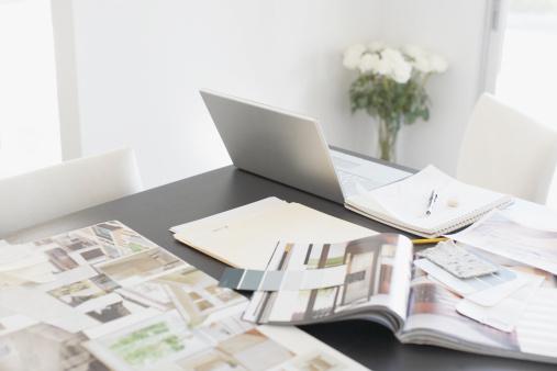 Publication「Interior design books on table」:スマホ壁紙(10)