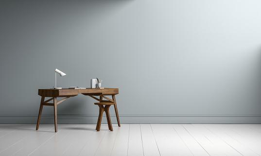 Writing「Interior desk copy space」:スマホ壁紙(12)