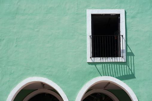 Mexico「Colourful architectural detail in Yucatan, Mexico」:スマホ壁紙(19)
