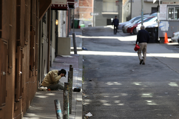 Homelessness「Number Of Homeless On San Francisco Streets Rises 17 Percent Over Last Two Years」:写真・画像(9)[壁紙.com]