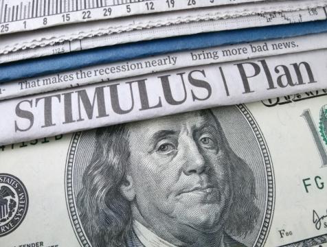 Politics「Stimulus Plan Headline」:スマホ壁紙(8)