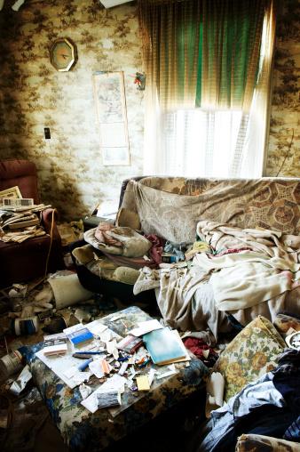 The Past「Grunge Living Room」:スマホ壁紙(16)
