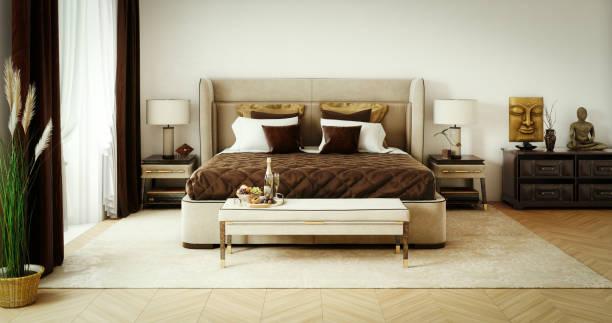 Classy Bedroom Interior:スマホ壁紙(壁紙.com)