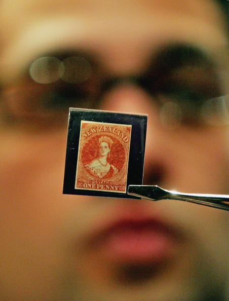 Kiwi「Early New Zealand Stamps Up For Auction」:写真・画像(3)[壁紙.com]