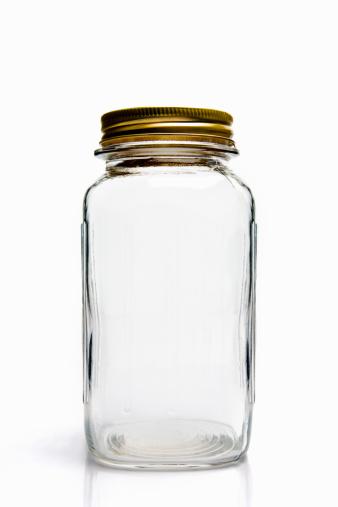 Jar「Empty glass mason jar」:スマホ壁紙(2)