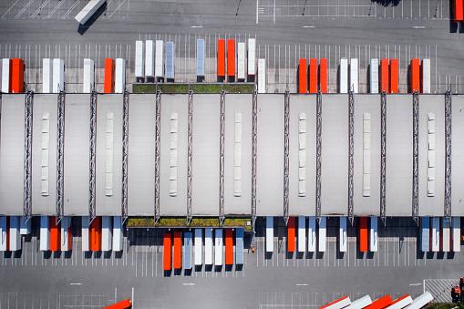 Traffic「Distribution logistics building parking lot」:スマホ壁紙(11)