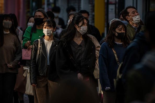 Tokyo - Japan「Concern As Japan Sees A Spike In Coronavirus Cases」:写真・画像(1)[壁紙.com]
