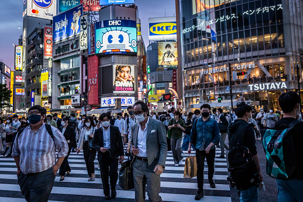 Tokyo - Japan「Japan's State Of Emergency Extended Amid A Fourth Wave Of Coronavirus」:写真・画像(7)[壁紙.com]