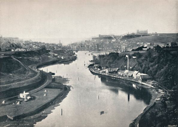General View「Whitby - General View Of The Town」:写真・画像(10)[壁紙.com]
