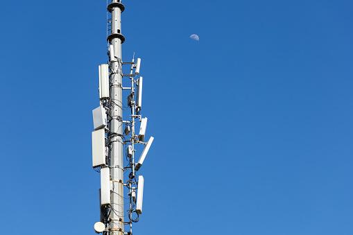 Mobile Phone「5G Telecommunications Base Station Tower」:スマホ壁紙(0)