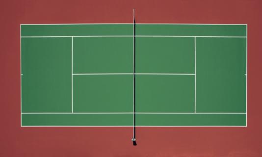 Symmetry「Tennis court (Digital Enhancement)」:スマホ壁紙(4)