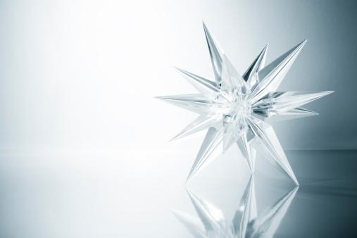 Christmas Decoration「Crystal star. Ice Glass Snowflake Light Snow Art Christmas」:スマホ壁紙(14)