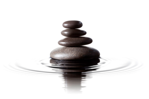 Spirituality「Balanced black stones in water - Feng Shui Massage Lastone」:スマホ壁紙(9)