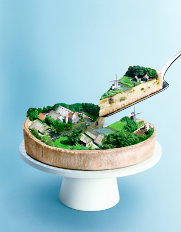 Dessert「dutch landscape cake」:スマホ壁紙(3)