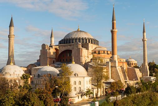 Turkey - Middle East「Hagia Sophia in Istanbul Turkey.」:スマホ壁紙(4)