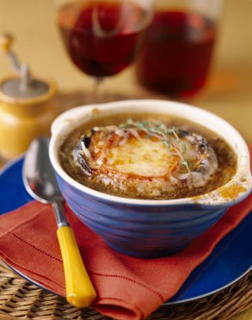 Onion Soup「Bowl of French onion soup」:スマホ壁紙(15)