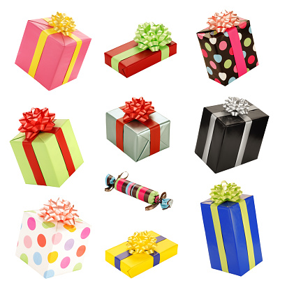 Birthday Present「Isolated Presents Gifts Collection Assortment」:スマホ壁紙(10)