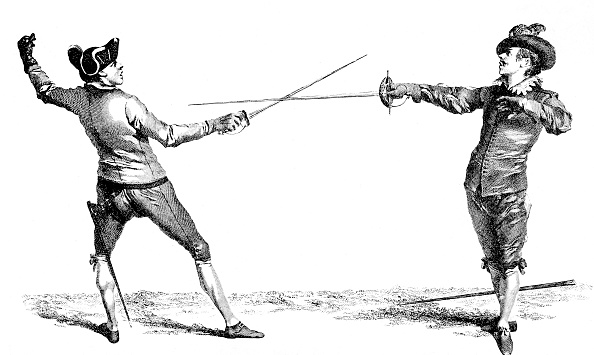 Sword「Spanish Guard attacked by French guard」:写真・画像(8)[壁紙.com]