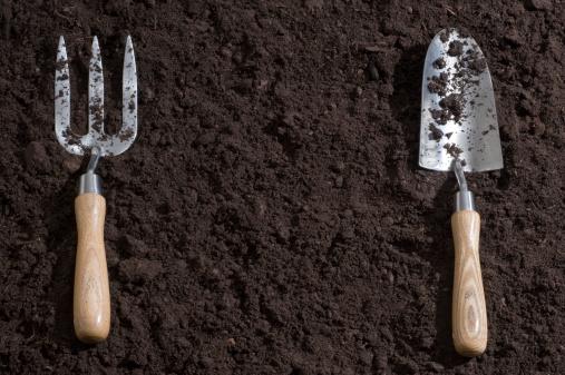 Gardening「Soil Background」:スマホ壁紙(8)
