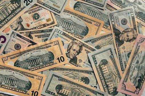 Heap「American dollar bills」:スマホ壁紙(8)