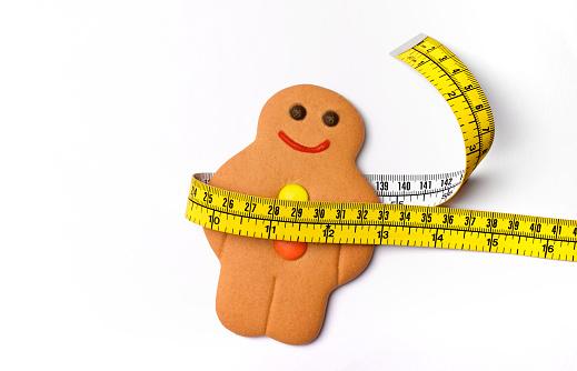 Overweight「Fat overweight gingerbread man」:スマホ壁紙(12)