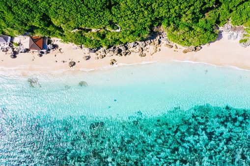 Bali「Bali - beach from above. Straight drone shot」:スマホ壁紙(17)