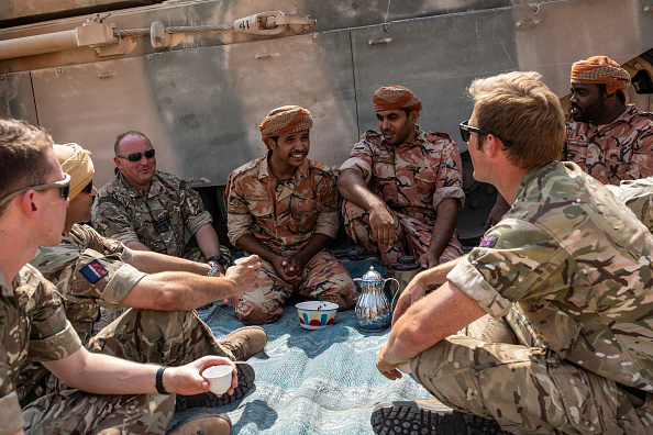 Diplomacy「The British Military On A Global Stage」:写真・画像(11)[壁紙.com]