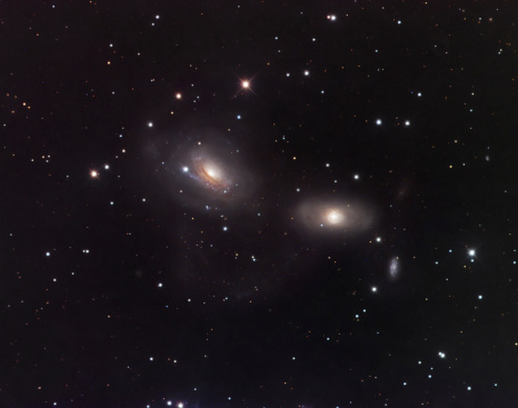 Supernova「Galaxies NGC 3166 and NGC 3169 in the constellation Sextans.」:スマホ壁紙(14)