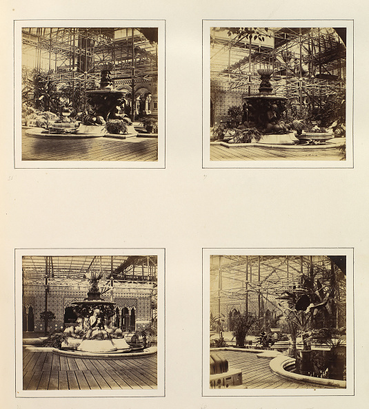 Cast Iron「View Of Fountain And Byzantine Court; Bronze Fountain In Northern Nave; Montis Fount」:写真・画像(6)[壁紙.com]