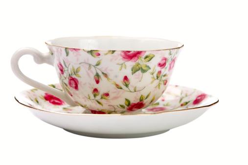Floral Pattern「Antique Tea Cup」:スマホ壁紙(18)