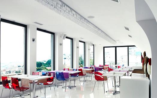 Outer Space「Empty Restaurant」:スマホ壁紙(7)