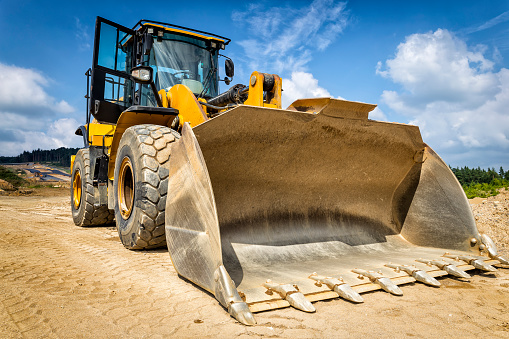 Earth Mover「Earth mover in a new highway construction S3, Poland」:スマホ壁紙(19)