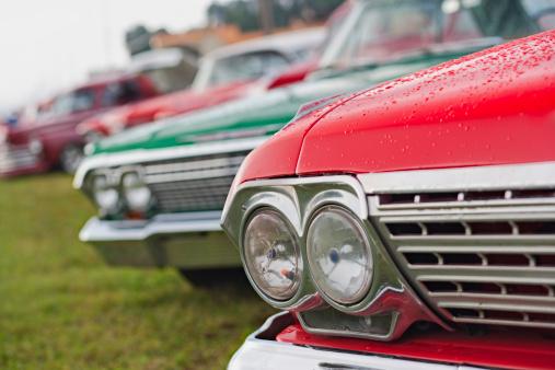 Hot Rod Car「Classic Cars on Parade」:スマホ壁紙(1)