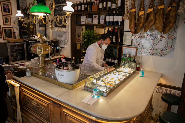 Tapas「Madrid's Lenient Covid-19 Rules Buck Trends In Other European Capitals」:写真・画像(17)[壁紙.com]