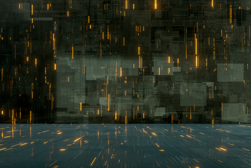 Circuit Board「Abstract techno background」:スマホ壁紙(11)