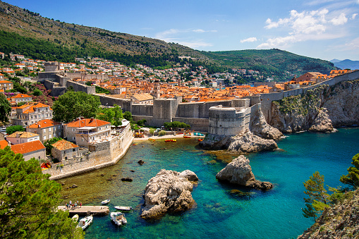 Adriatic Sea「Old Walled City of Dubrovnik and the Adriatic Sea, Croatia」:スマホ壁紙(18)