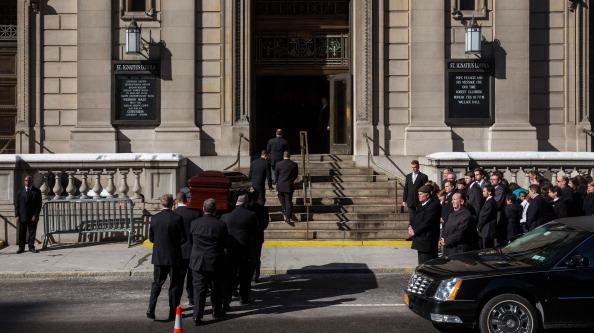 Drug Overdose「Philip Seymour Hoffman's Funeral Service」:写真・画像(15)[壁紙.com]