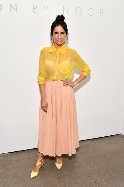 Camilla Belle「Noon By Noor - Backstage - September 2018 - New York Fashion Week: The Shows」:写真・画像(17)[壁紙.com]