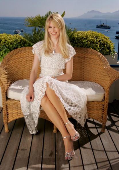 Ankle Strap Shoe「Cannes - Claudia Schiffer Portraits」:写真・画像(2)[壁紙.com]