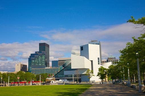 Rock Music「Cleveland skyline from Voinovich Park」:スマホ壁紙(0)