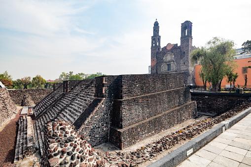 Ancient Civilization「Ruins of ancient Aztec city of Tenochtitlan in Mexico City」:スマホ壁紙(15)