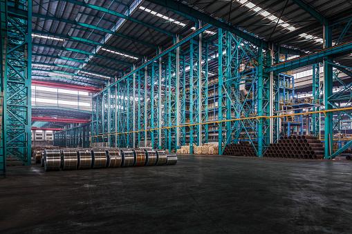 Metal Industry「Packed coils of steel sheet」:スマホ壁紙(11)