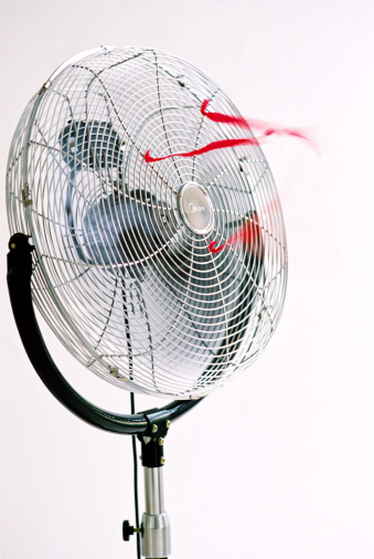 Spinning「Electric fan, close up」:スマホ壁紙(2)