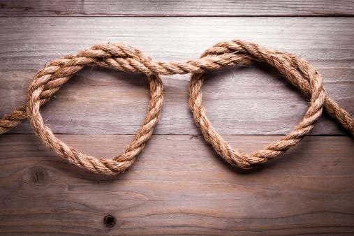 Wedding Invitation「Rope Heart」:スマホ壁紙(11)